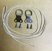 Hanging Kit Double D-Rings, Screws and Cord